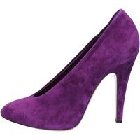 Schoenen Dames pumps Casadei decolte viola camoscio az383 Viola