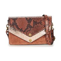 Tassen Dames Schoudertassen met riem Betty London KARENNE Brown