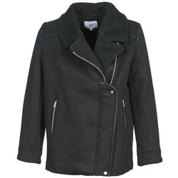 Textiel Dames Mantel jassen Suncoo ERWAN Zwart