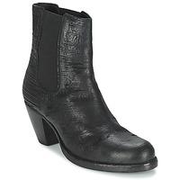 Schoenen Dames Enkellaarzen Fred de la Bretoniere ALMERE Zwart