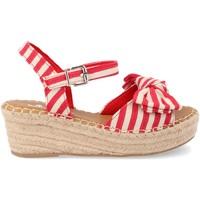 Schoenen Dames Espadrilles Ainy Y288-58 Rojo