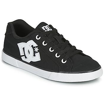 Schoenen Dames Skateschoenen DC Shoes CHELSEA TX Zwart / Wit