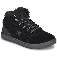 Schoenen Kinderen Hoge sneakers DC Shoes CRISIS HIGH WNT Zwart