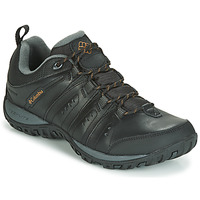 Schoenen Heren Allround Columbia WOODBURN II WATERPROOF Zwart