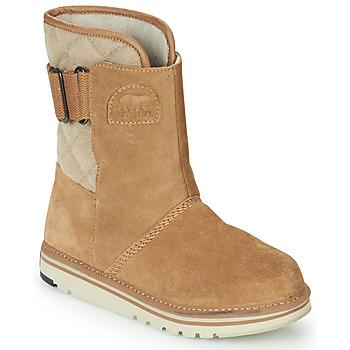 Schoenen Dames Laarzen Sorel NEWBIE Honing