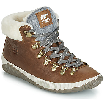 Schoenen Dames Laarzen Sorel OUT N ABOUT PLUS CONQUEST Brown