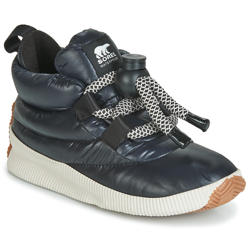 Schoenen Dames Laarzen Sorel OUT N ABOUT PUFFY LACE Zwart