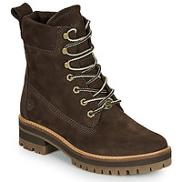 Schoenen Dames Laarzen Timberland COURMAYEUR VALLEY YBOOT Brown