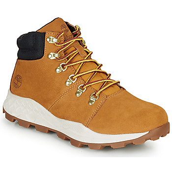 Schoenen Heren Hoge sneakers Timberland BROOKLYN HIKER Graan / Brown