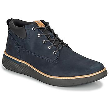 Schoenen Heren Hoge sneakers Timberland CROSS MARK PT CHUKKA Blauw