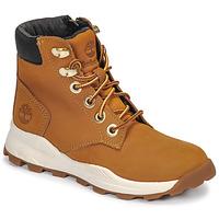 Schoenen Kinderen Hoge sneakers Timberland BROOKLYN SNEAKER BOOT Graan