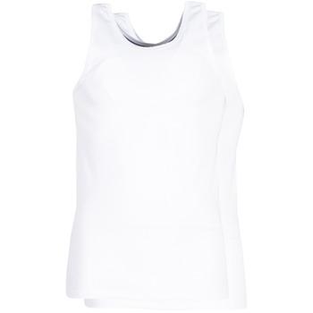 Ondergoed Heren Hemden DIM X-TEMP TOPS X 2 Wit