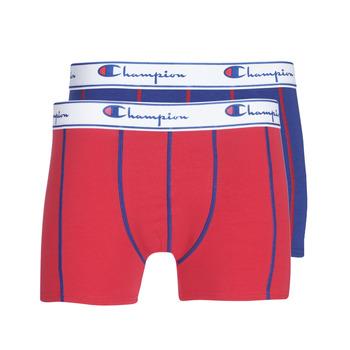 Ondergoed Heren Boxershorts Champion UNI X2 Rood / Blauw