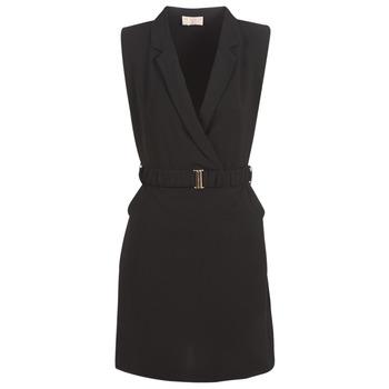 Textiel Dames Korte jurken Moony Mood KOAL Zwart