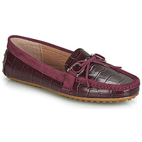 Schoenen Dames Mocassins Lauren Ralph Lauren BRILEY Bordeaux