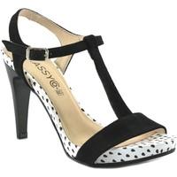 Schoenen Dames Sandalen / Open schoenen Classyco Sandalias de tacón alto by Patricia Miller () Noir