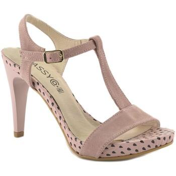 Schoenen Dames Sandalen / Open schoenen Classyco Sandalias de tacón alto by Patricia Miller () Rose