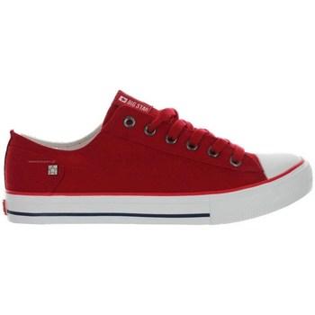 Schoenen Dames Lage sneakers Big Star DD274339 Rouge