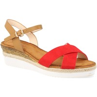 Schoenen Dames Sandalen / Open schoenen Suncolor 810-7 Rojo
