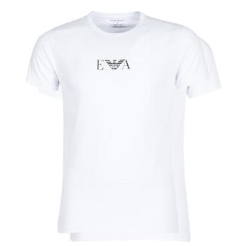 Textiel Heren T-shirts korte mouwen Emporio Armani CC715-111267-04712 Wit