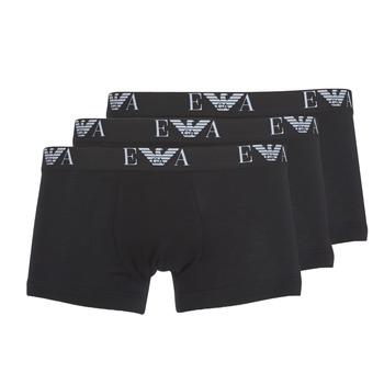 Ondergoed Heren Boxershorts Emporio Armani CC715-111357-21320 Zwart