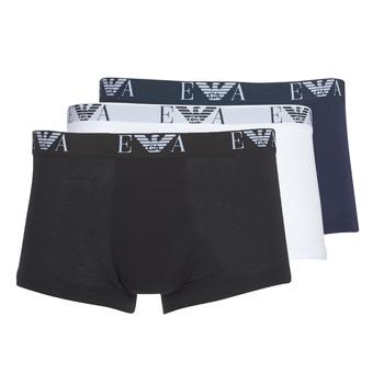 Textiel Heren Boxershorts Emporio Armani CC715-111357-56110 Wit / Zwart / Marine