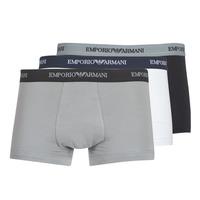 Textiel Heren Boxershorts Emporio Armani CC717-111357-02910 Wit / Zwart / Grijs