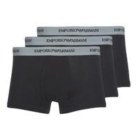 Ondergoed Heren Boxershorts Emporio Armani CC717-111357-00120 Zwart