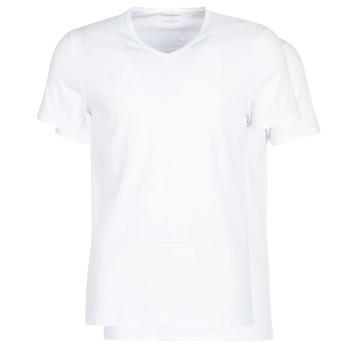 Textiel Heren T-shirts korte mouwen Emporio Armani CC722-111648-04710 Wit