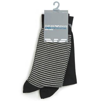 Accessoires Heren Sokken Emporio Armani CC114-302302-00020 Zwart