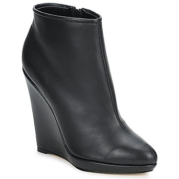 Schoenen Dames Low boots Bourne FONATOL Zwart