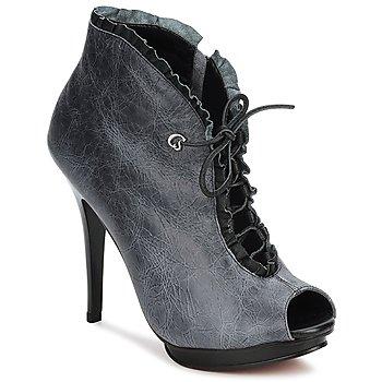 Schoenen Dames Low boots Carmen Steffens 6002043001 Zwart / Grijs