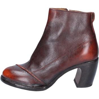 Schoenen Dames Enkellaarzen Moma BS433 Orange