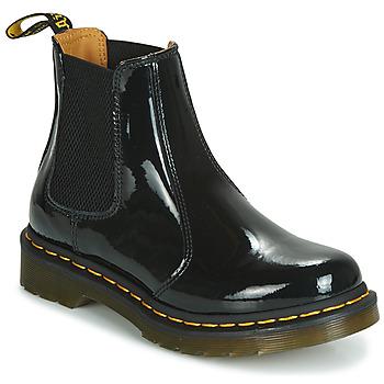 Schoenen Dames Laarzen Dr Martens 2976 PATENT LAMPER Zwart
