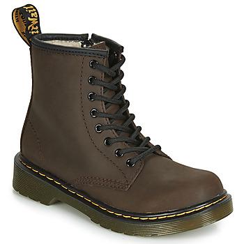 Schoenen Kinderen Laarzen Dr Martens 1460 SERENA JUNIOR Brown