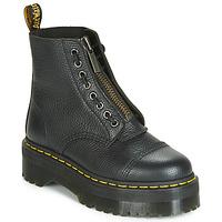 Schoenen Dames Laarzen Dr Martens SINCLAIR AUNT SALLY Zwart