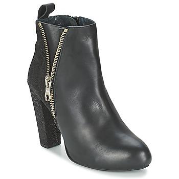 Schoenen Dames Enkellaarzen Shoe Biz RAIA Zwart