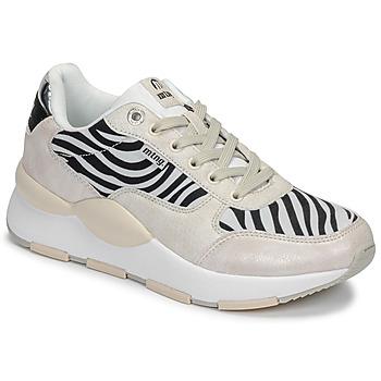 Schoenen Dames Lage sneakers MTNG 69867-C47433 Zwart / Wit