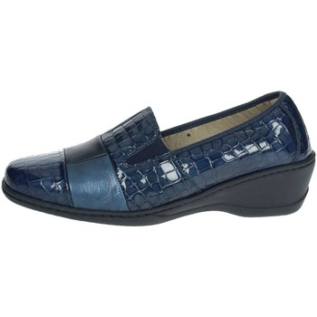 Schoenen Dames Mocassins Notton 2298 Blue