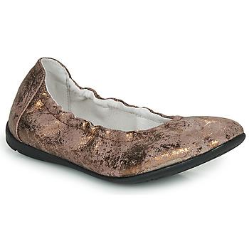 Schoenen Meisjes Ballerina's Ramdam LIBRE Brons