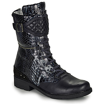 Schoenen Meisjes Hoge laarzen Ikks KIMBERLEY Zwart