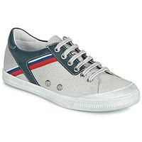 Schoenen Jongens Lage sneakers Ramdam KAGOSHIMA Wit / Blauw