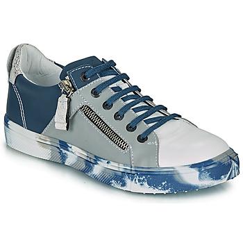 Schoenen Jongens Lage sneakers Ikks BRANDON Blauw / Grijs