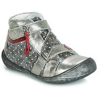 Schoenen Meisjes Laarzen GBB NADETTE Zilver