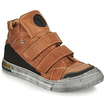 Schoenen Jongens Hoge sneakers Achile HUGO Brown