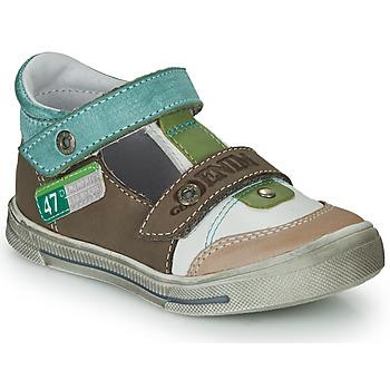 Schoenen Jongens Sandalen / Open schoenen GBB PEPINO Brown / Beige / Groen