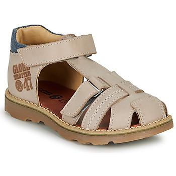Schoenen Jongens Sandalen / Open schoenen GBB PINO Grijs