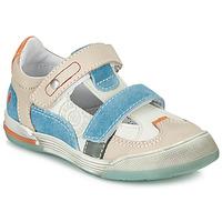 Schoenen Jongens Lage sneakers GBB PRINCE Wit / Beige / Blauw