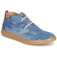 Schoenen Meisjes Hoge sneakers Achile ANDREA Blauw