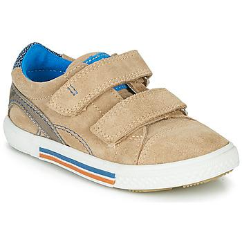 Schoenen Jongens Lage sneakers Catimini PERRUCHE Beige
